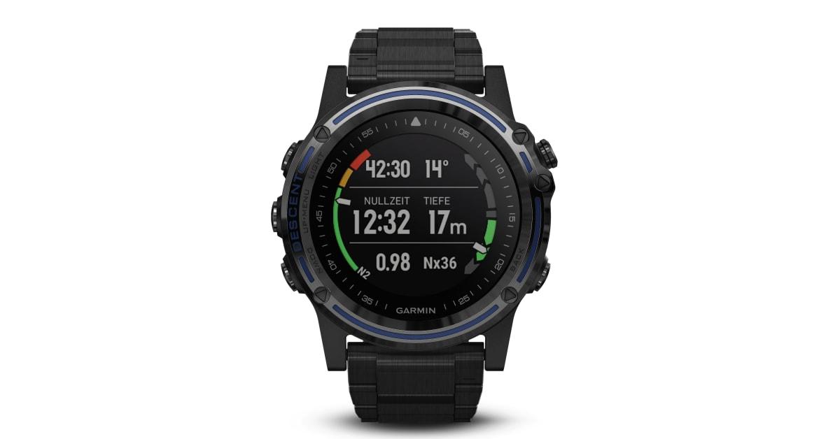 Golf Entfernungsmesser Apple Watch : Garmin ergründet neue tiefen mit dem tauchcomputer descent mk1