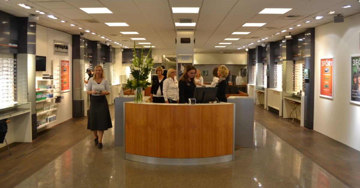 Synoptiköppnar ny butik påÖstra Hamngatan i Göteborg u2013 inviger Synoptik Sweden AB