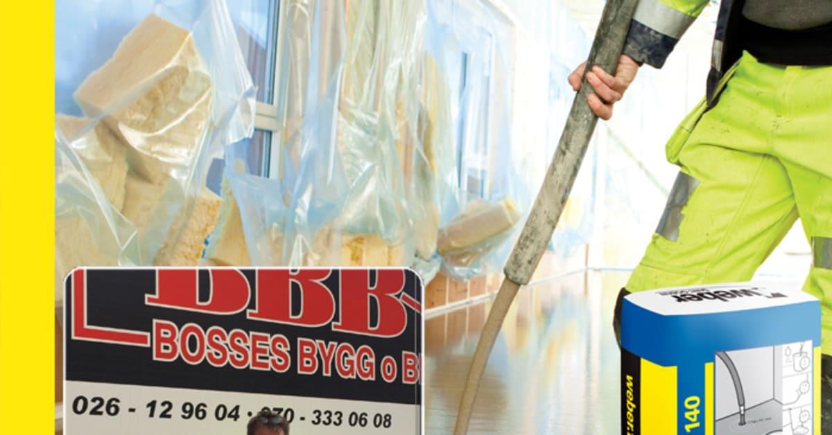 bosses bygg o betong