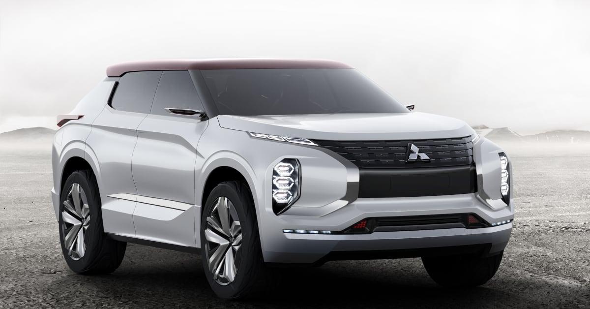 Mitsubishi Motors Lineup At Auto