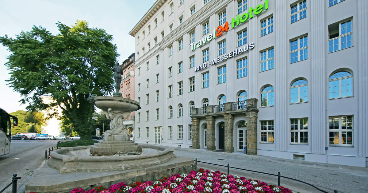 Er ffnung des ersten travel24 hotels in leipzig leipzig for Designhotel leipzig