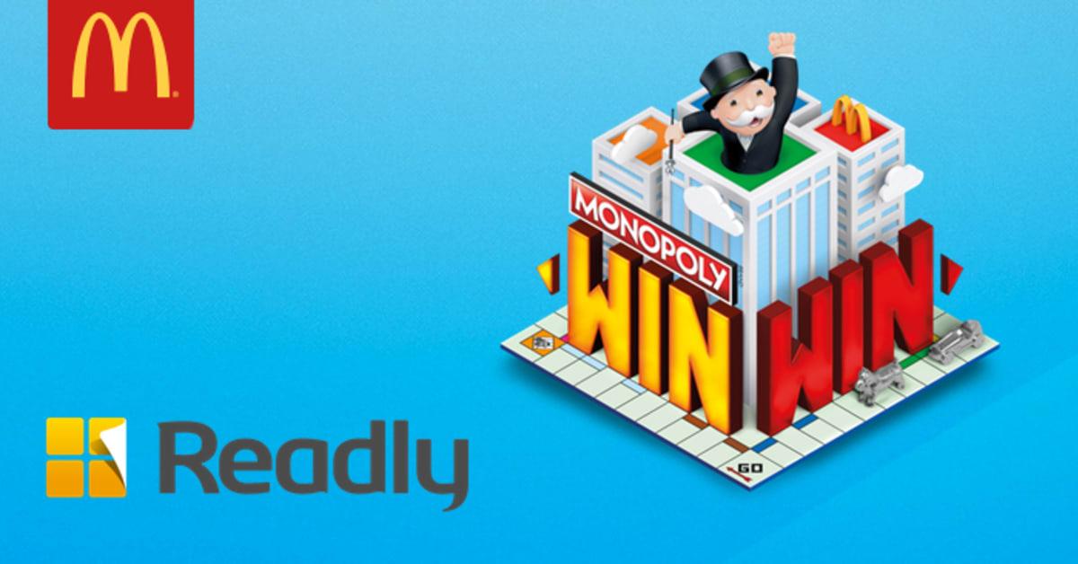 What Mcdonald S Food Has Monopoly Pieces Uk