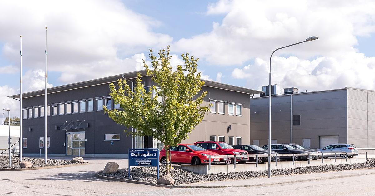 Wihlborgs hyr ut till ACNR Cyber Technology i Malmö