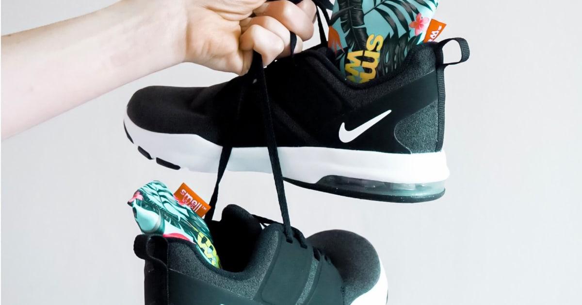 Frisk opp sko, hansker eller treningsbager med duftposer