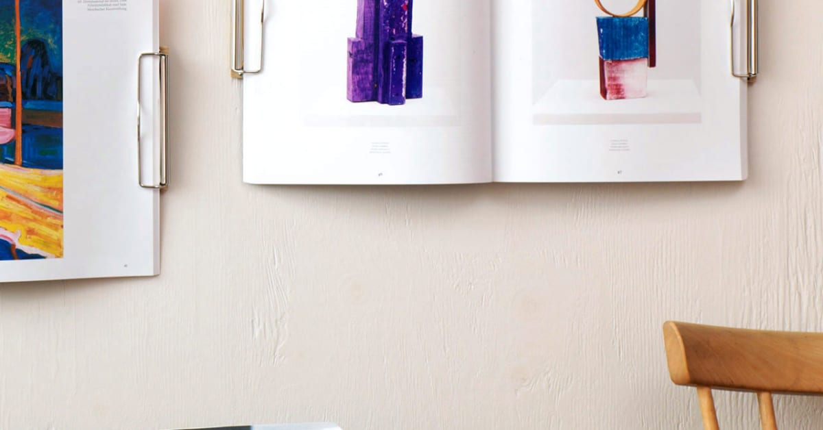 Upcyclingprodukten Magazine Wall Hanger kör crowdfunding-runda