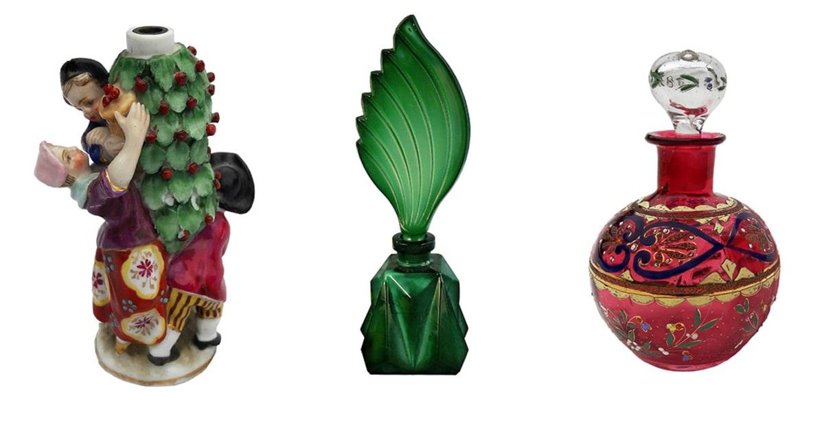 Flärdfulla flaskor i Design för doft på Malmö Museer Malmö stad