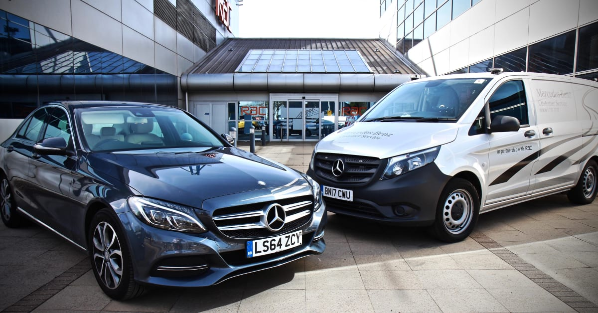 Mercedes benz appoints rac as its new roadside assistance for Mercedes benz road side assistance