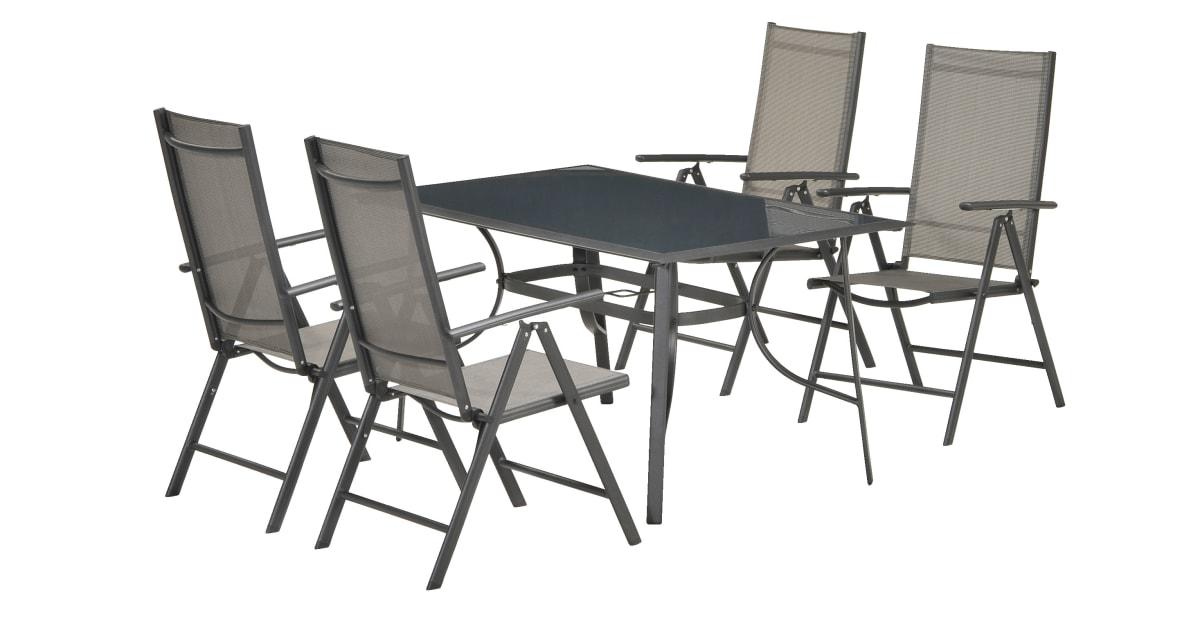 Regulerbar stol MELLBY svart | JYSK