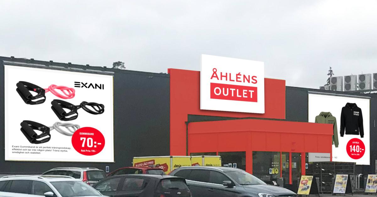 Åhléns Outlet – Öppnar nytt varuhus i Växjö