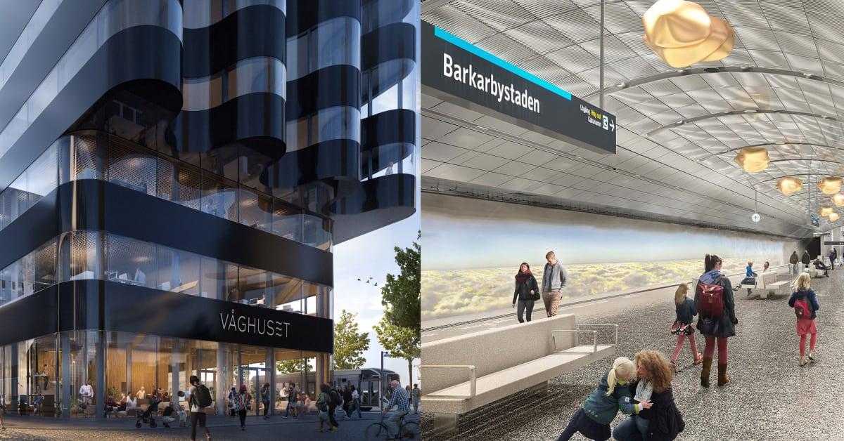 Masthuggskajen och Nya Tunnelbanan prisas i Sweden Green Building Awards