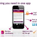 Lumesse mobile - mobil, samarbejde, hurtigere rekruttering