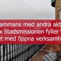 Sjömanskyrkan blir aktivitets- & kulturhus i Svenska kyrkans regi.