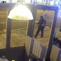 CCTV of Brazant prior to the attack