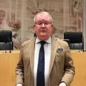 Kommunfullmäktiges ordförande Anders Teljebäck inför kommunfullmäktige 15 april
