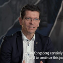 Jotun HullSkater - interview with KONGSBERG CEO Geir Håøy