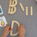 Ett nytt kreativt sätt att lära sig bokstäver på