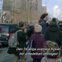 Klipp - Greta demonstrerar i Bryssel