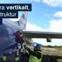 Se robotens inspektion av flygplanet