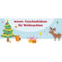 moses. Geschenkideen für Weihnachten
