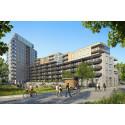 Klart för byggstart av 99 lägenheter i Riksbyggens Brf Kaprifolen i Kungälv