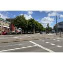 Biltrafik vid Järntorget leds om