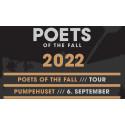 Finske Poets of the Fall kommer til Pumpehuset 6. september 2022