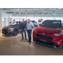 Nordvik Toyota Harstad lokker med dobbeltpremiere: - RAV4 Plug-in Hybrid og Yaris Hybrid