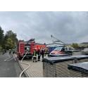 Dichter Rauch in der Hephata-Holzwerkstatt am Herzberg: Feuerwehrübung gibt Sicherheit für den Ernstfall