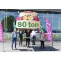 80 ton sorterade textilier hos Wargön Innovation
