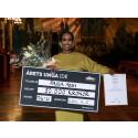 Energiingenjören Faisa Abdi från Dalarna tilldelas 50 000 kr för sin idé