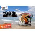 Vinn en natt på världens första pop-up-lyxhotell i ett badvaktstorn - Lifeguard Tower – på Medelhavets strand i Tel Aviv!