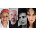 Douglas Stuart, Adania Shibli och Olga Ravn följer Jamaica Kincaid på Författarscenen i höst