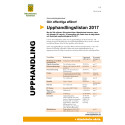 Upphandlingslista Hässleholms kommun 2017