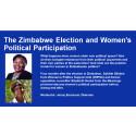 Gör det någon skillnad — kvinnor i politiken?