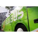 Växjö blir ny hållplats på FlixBus linjekarta
