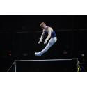 David Rumbutis gör en strålande final på EM i artistisk gymnastik