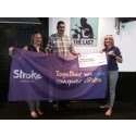 Oswestry husband and wife raise £1,000 for the Stroke Association