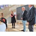 Spidskandidat besøger privatskole i Aalborg