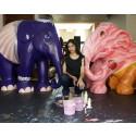 Karina's creative trio make their Elephant Parade debut