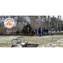 Premiär för naturaktiviteter mottogs varmt i snön
