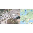 Stöldgömma funnen i Rumänien med svensk GPS-tracker i stulen utombordare