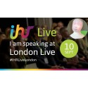 Interview Robot Tengai in Keynote at In-House Recruitment Live, London