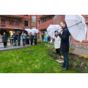 Uppsalas första kooperativa hyresrätter invigda i klimatsmart hus