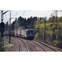 Tågtransporter minskar klimatpåverkan och når miljömål