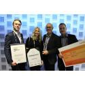 Rototilt winner of the Teknikpriset (Technology prize) at Umeå Gala 2017