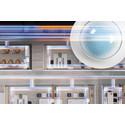 Lysstyring av 16 lysgrupper med den nye DALI-2-tilstedeværelsesdetektoren COMPACT APC10 fra ESYLUX