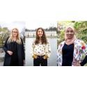 2021 års Kompassrosstipendiater är: Eleonora Svanberg, 22 år, Emina Sesto, 23 år och Muna Idow, 23 år – Tre unga värdebaserade kvinnliga ledare tar emot årets stipendium.