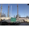 Båtarna går till vintervila längs Göta kanal
