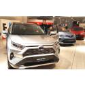 RAV4 ble fjorårets salgssuksess hos Nordvik Toyota