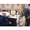 Sunderland stroke survivors enjoy art therapy thanks to donation from daughter in law